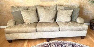 Bernhardt Trevor Corduroy Contemporary Sofa/Couch