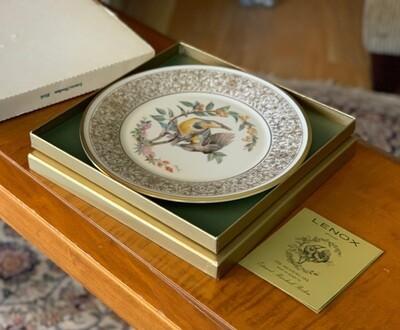 Lenox Medowlark 1973 Collectors plate