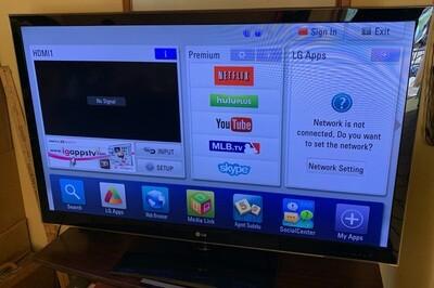 LG 55IN LED 1080P HD TV 55LW5600