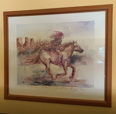 *Signed* Amy R. Stein Windsong Print