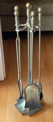 Vintage Fireplace tool set