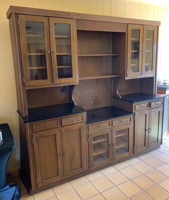 Vintage stepback cupboard/Cabinet