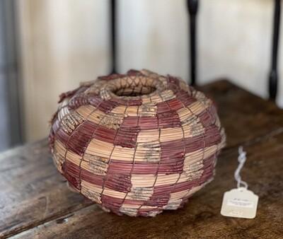 #4 Original Kraynek Prince Torrey Pine Needle Basket