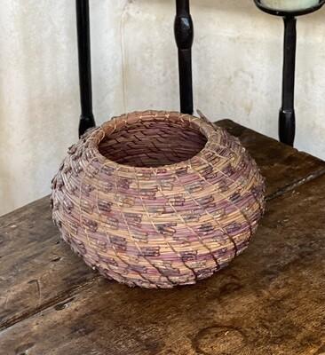 #5 Original Kraynek Prince Torrey Pine Needle Basket