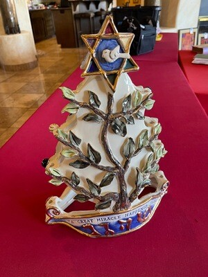 Blue Sky Clayworks Retired Christmas Holday/Hanukkah by Heather Goldminc