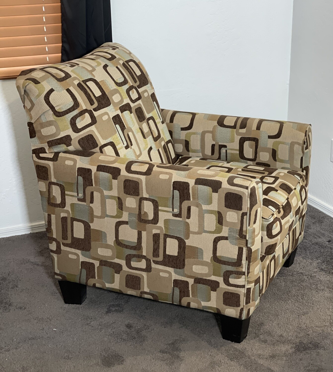 #1 Ashley Furniture Contemporary Fabric Chair