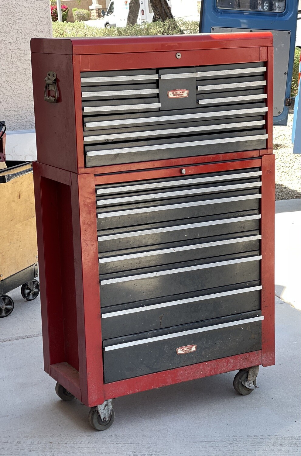 Craftsman Commercial 2-Piece Tool Chest