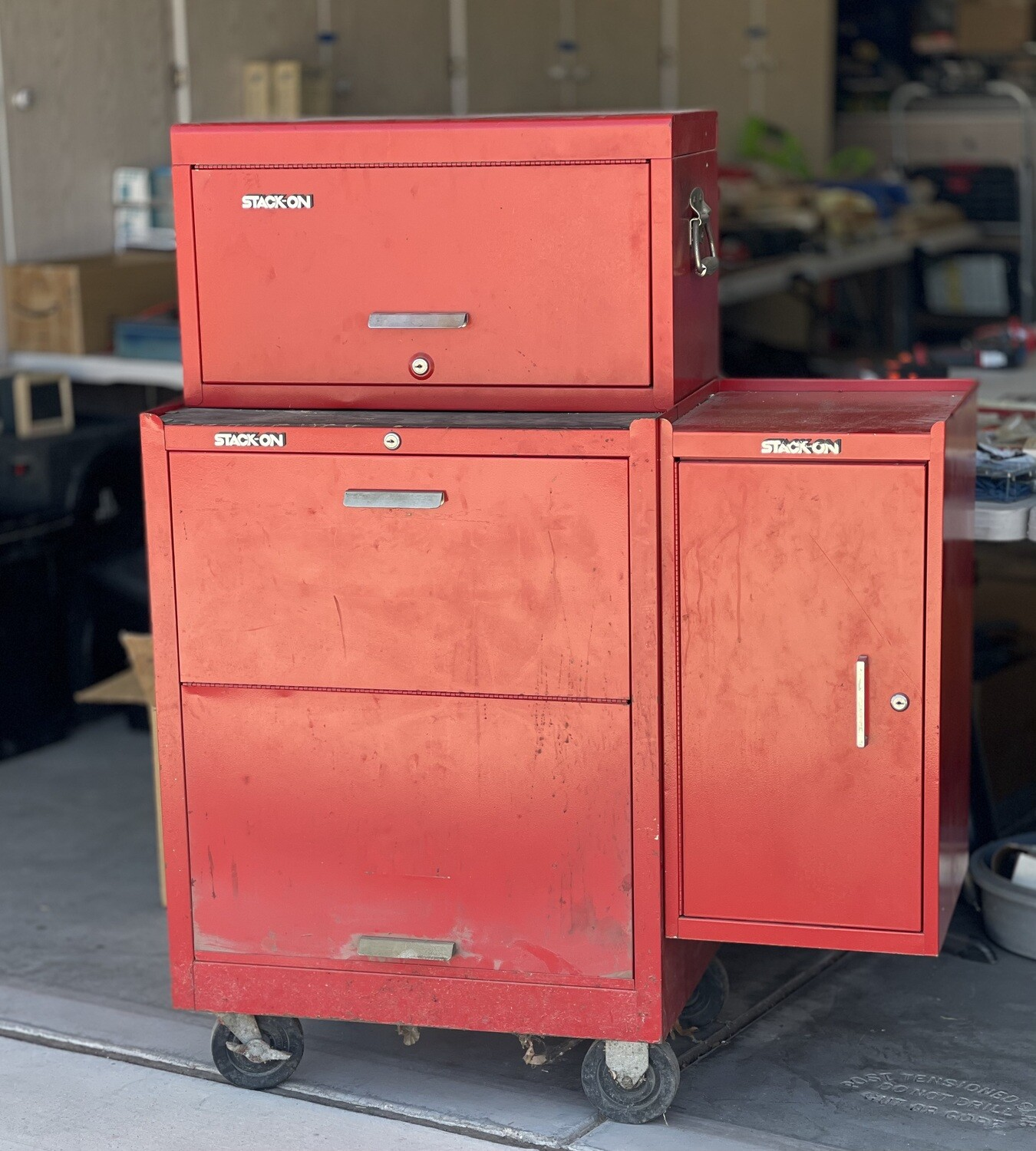 3-piece Stack-On Tool Chest