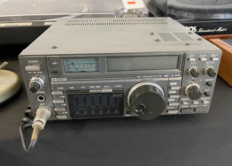 Icom IC-735 HF Transceiver General Coverage Radio