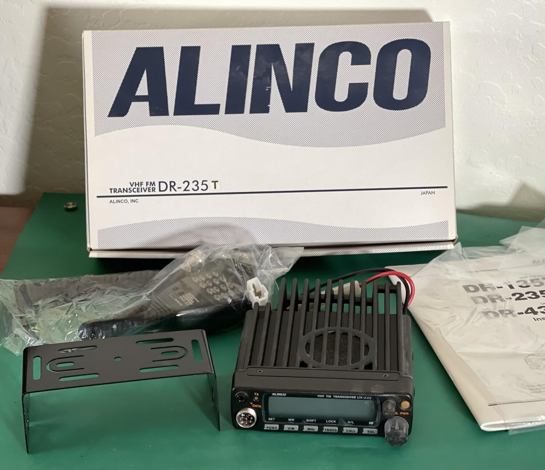 Alinco DR-235 235t VHF FM Transceiver in Box