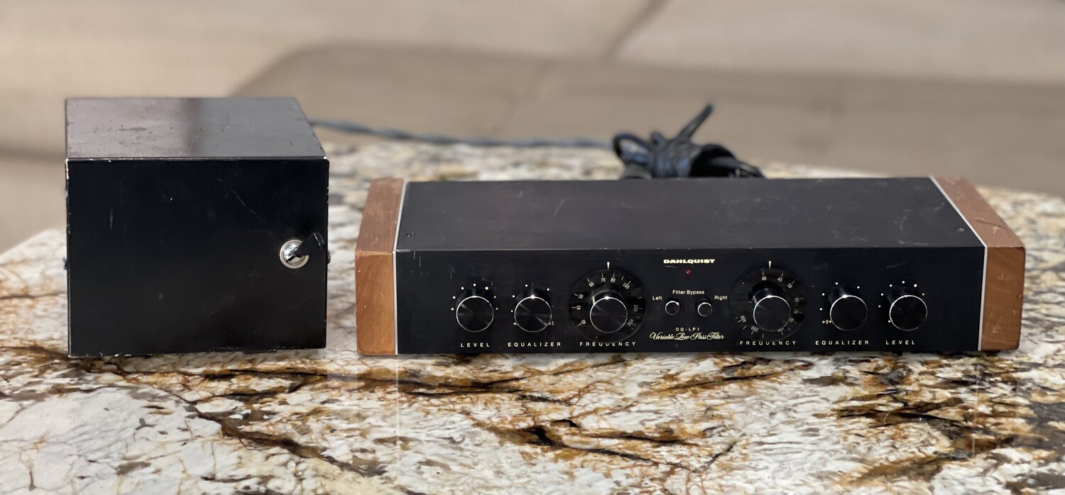 Dahlquist DQ-LP1 Crossover Variable Low Pass Filter