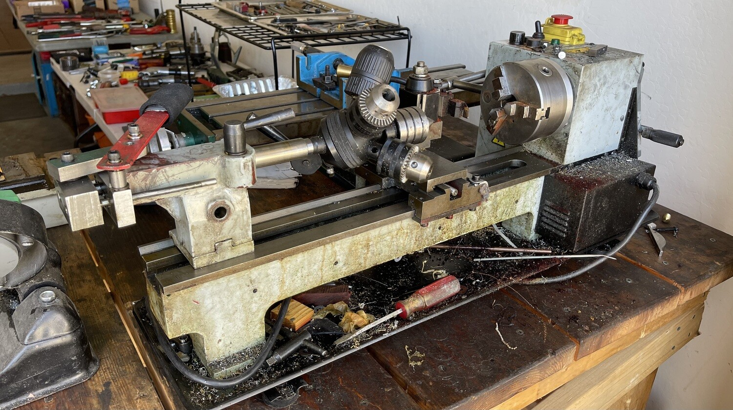 MicroLux True-Inch 7x16 Variable Speed Lathe