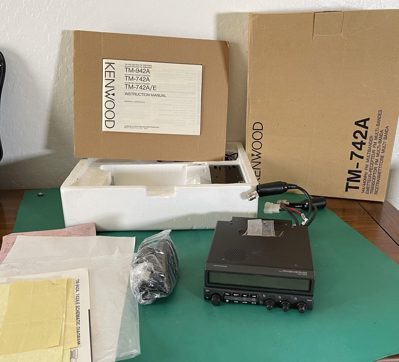 Kenwood TM-742A Mobile Transceiver