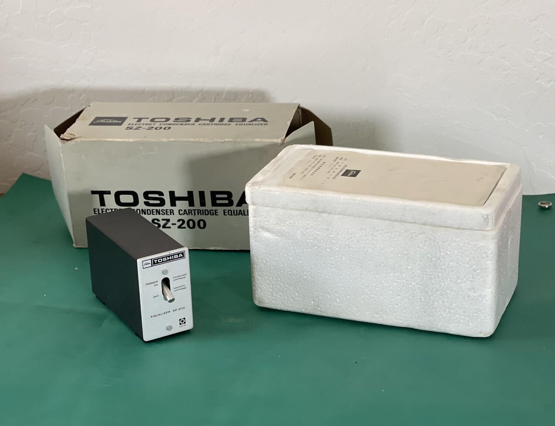 Toshiba SZ-200 Phono Cartridge EQ Equalizer