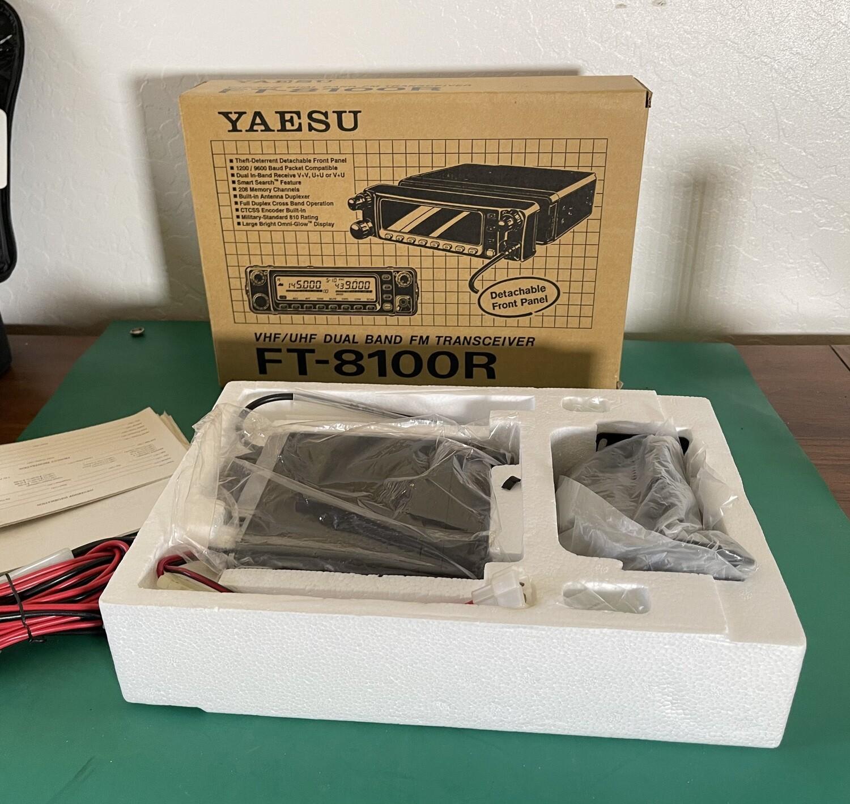 Yaesu FT-8100 Dual Band VHF/ UHF Transceiver FT-8100R