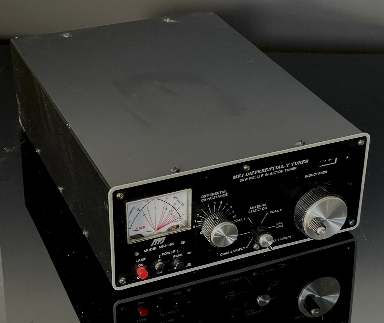 MFJ Differential-T Antenna Tuner MFJ-986 MFJ986 Ham Radio