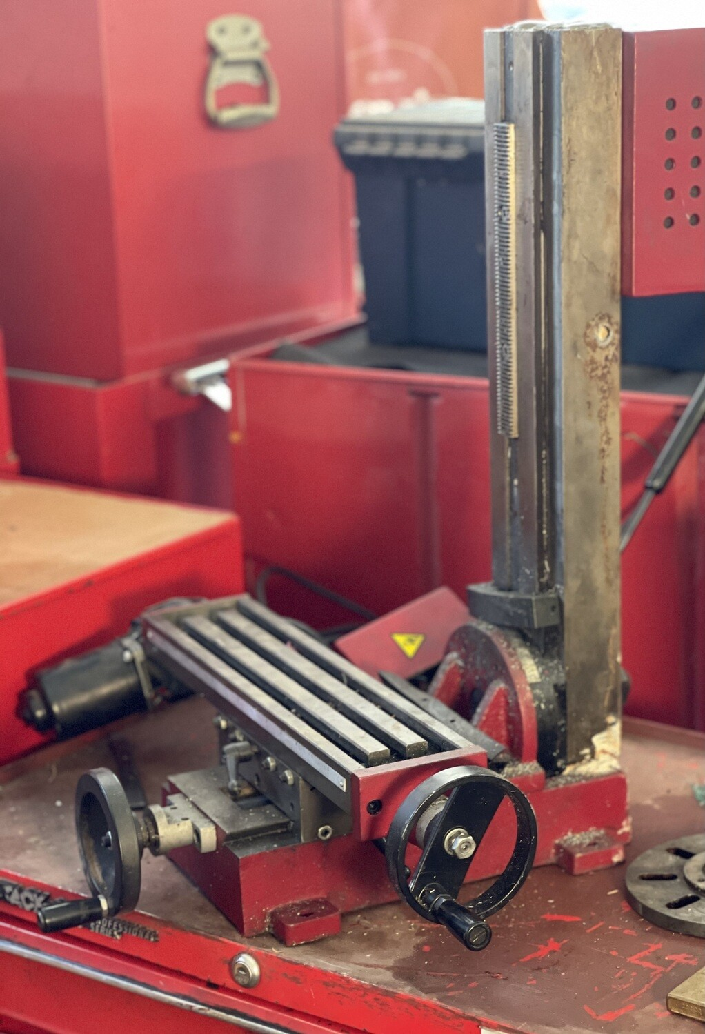 Mini Vertical Milling Drilling Machine AS-IS