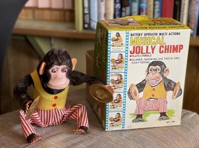 Daishin Musical Jolly Chimp 7061 in Box