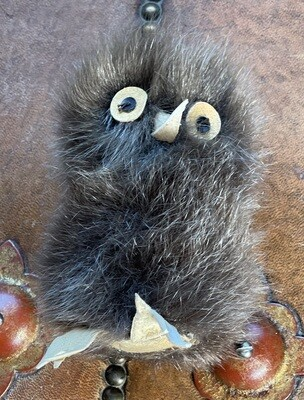 Inuit Eskimo Ookpik Owl Happy Valley LABRADOR sealskin