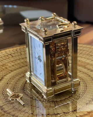Matthew Norman 1781 8 Day Moon Phase Repeater Carriage Clock Moonphase