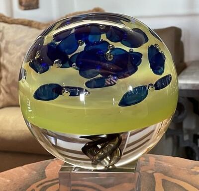 *Original* Pino Signoretto Murano Art Glass Orb Sculpture