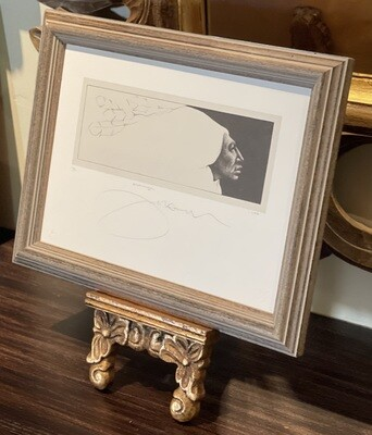 *Signed* Frank Howell Messages Litho Numbered  Serigraph