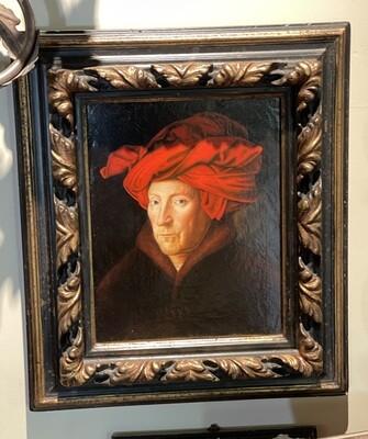 *Original* Recreation by Calzolari Portrait Old Master Portrait