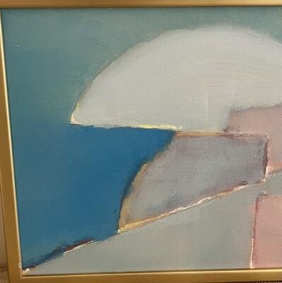 *Original* Art Prelude to a Silent Evening Alvaro Cardona Hine Acrylic Painting