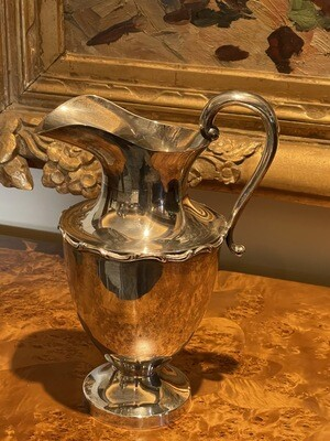 Rare JLR 925 Silver Pitcher 11.5 inches tall Sterling  Juventino Lopez Reyes