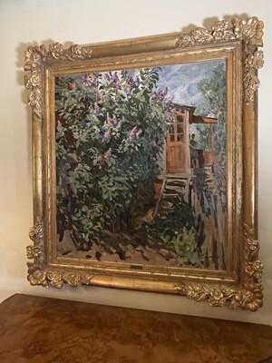 *Original* Art Max Avadiyevich Birshtein Oil Painting