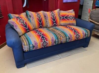 Pendleton Wool Blanket Sleeper Sofa Couch FULL