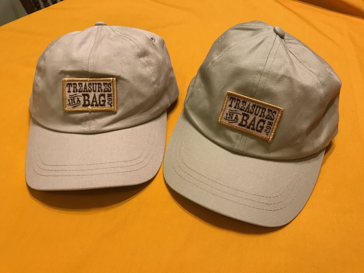 Baseball Cap with Treasures Patch