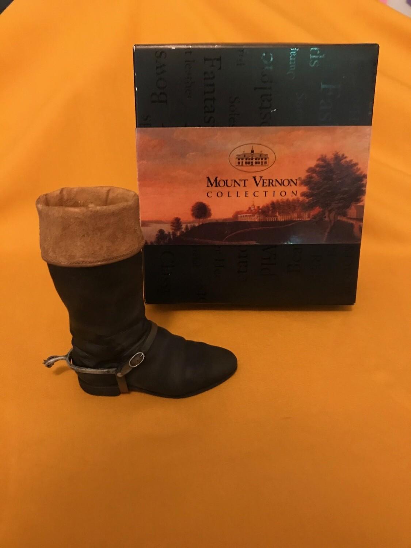 George Washington Riding Boot