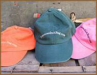 Baseball Caps - Embroidered - Orange