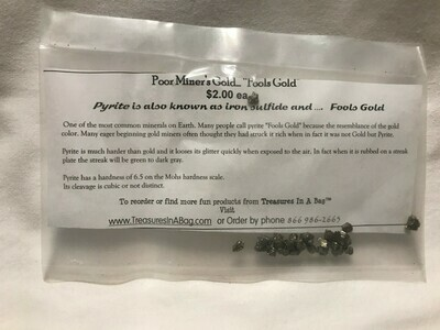 Fool's Gold - Pyrite