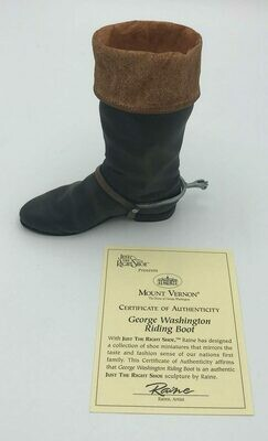 George Washington Riding Boot