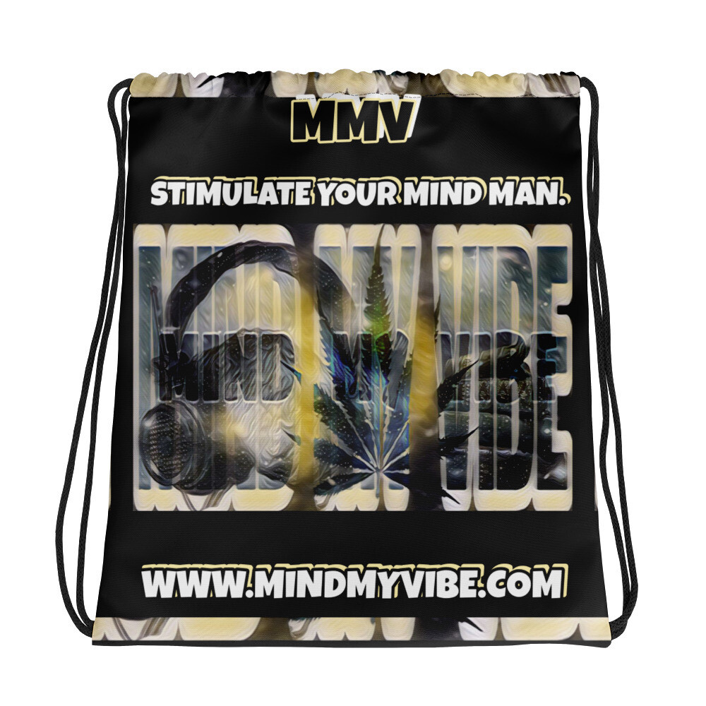 MMV-Stimulate Your Mind, Drawstring bag