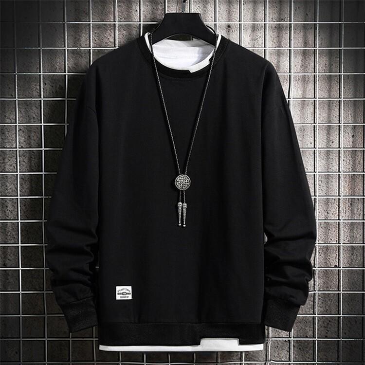 Autumn round neck bottoming sweater Sweatshirt