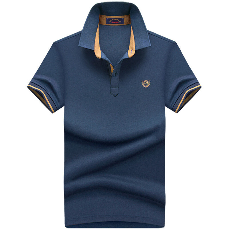 Summer Lapel bottoming polo shirt