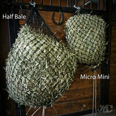 BY THE FLAKE Hay Chix® Half Bale Net