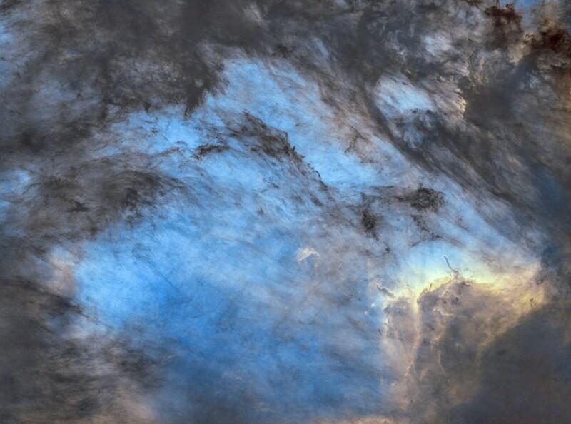 The Pelican Nebula - Starless