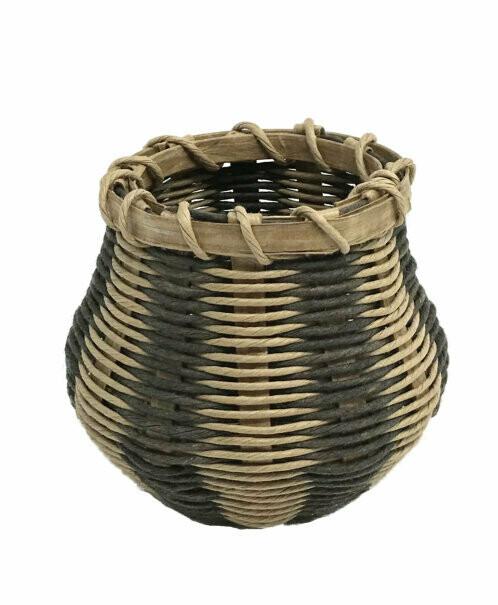Wicker Basket Kit - Honeysuckle Style