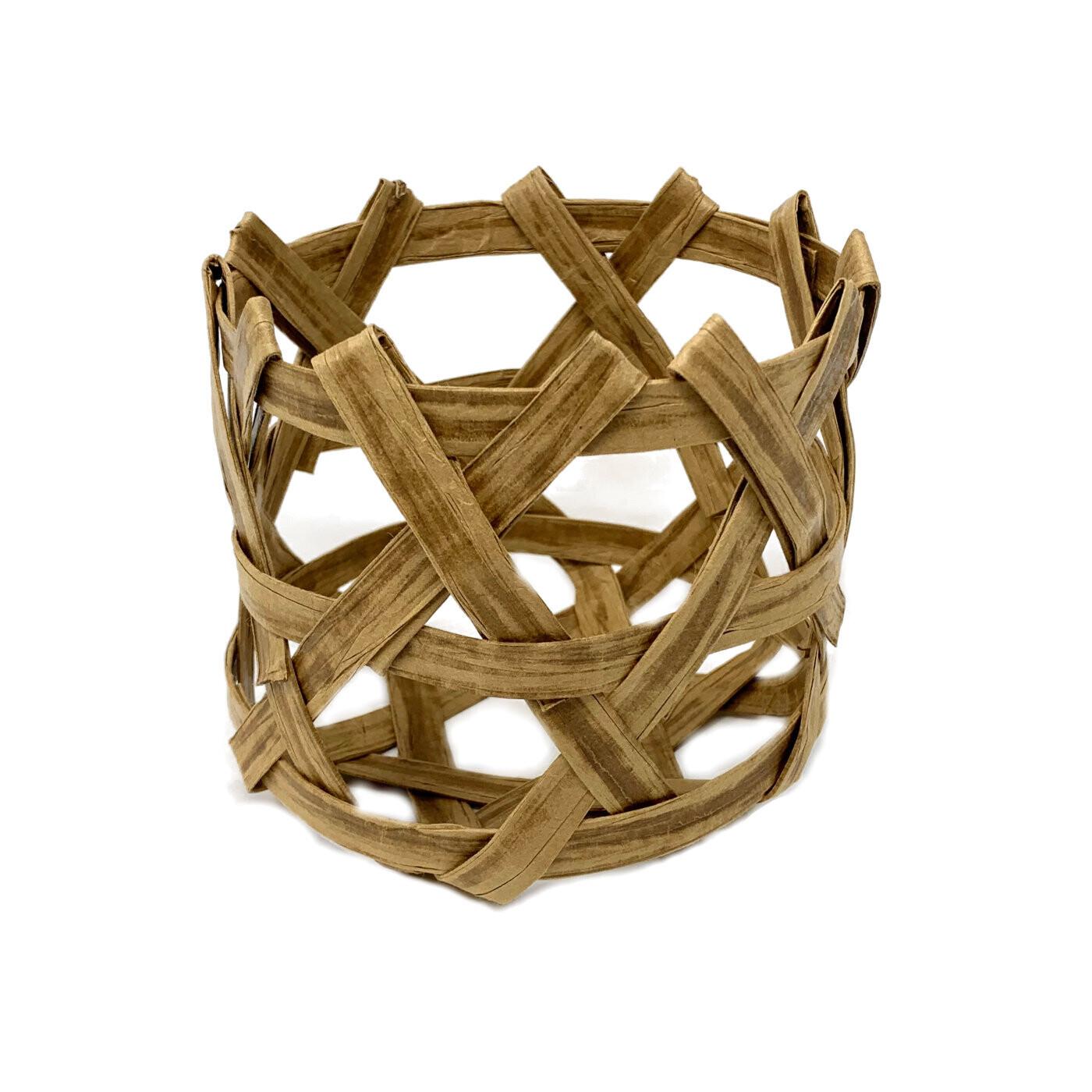 Plaited Basket Kit - Hexagonal Style