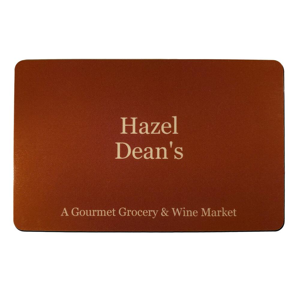 Hazel Dean's Gift Card
