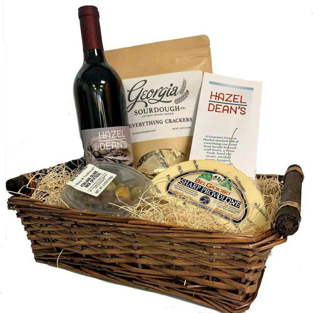 Classic Cabernet Cheese Basket