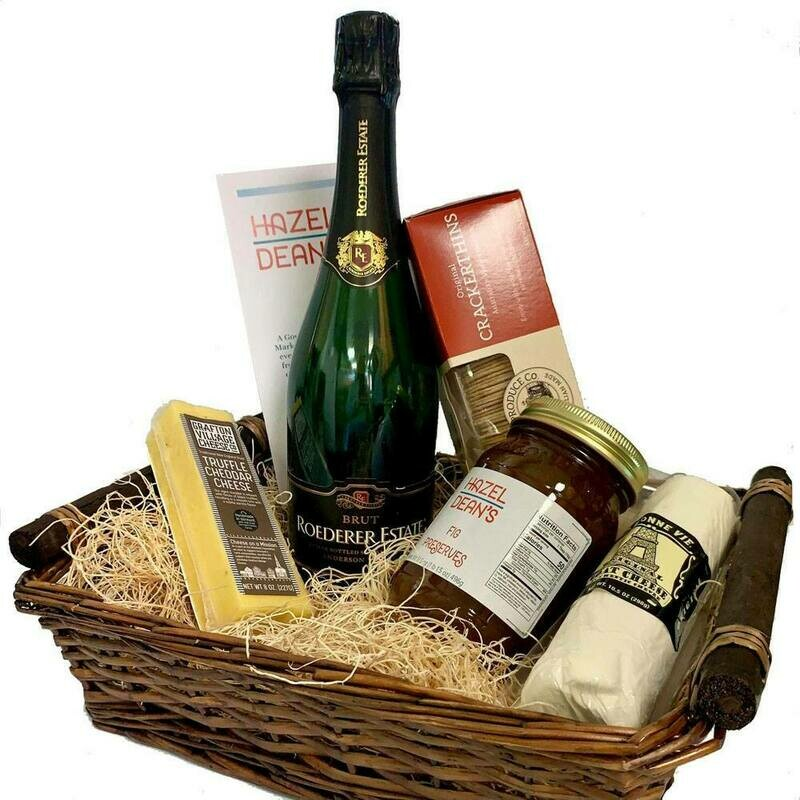 Champagne Cheese Basket
