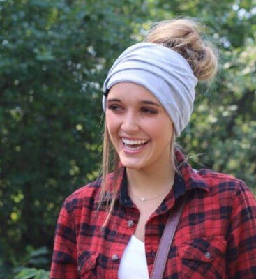 Pretty Simple - Ponytail, Messy Bun Beanie, Face Mask - Multiple Colors