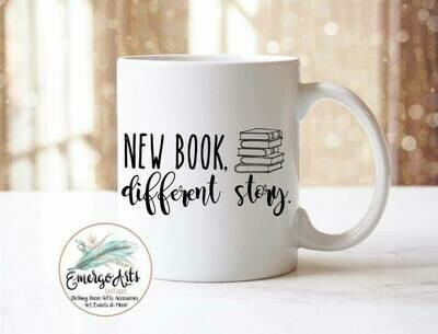 New Book Different Story Drink-ware