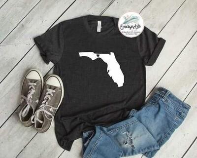 Florida - Heart Tee