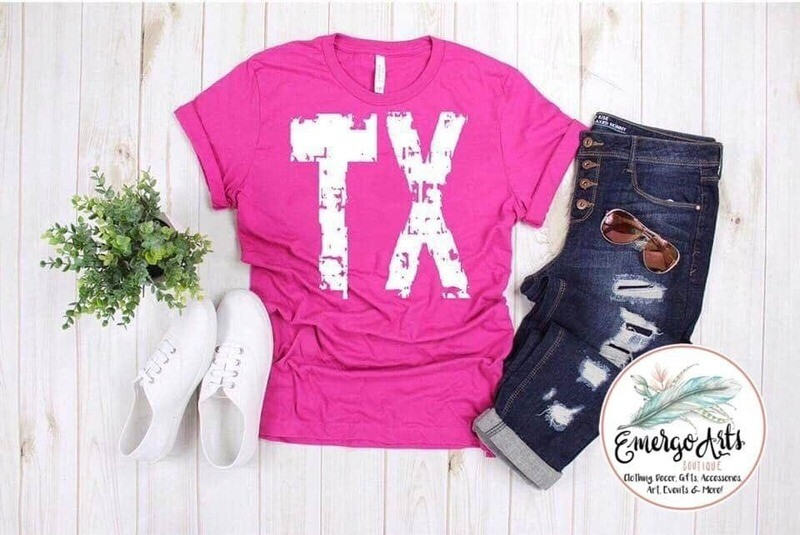 TX Distressed - Graphic Tee